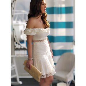 🆕Montana White Off the Shoulder Dress